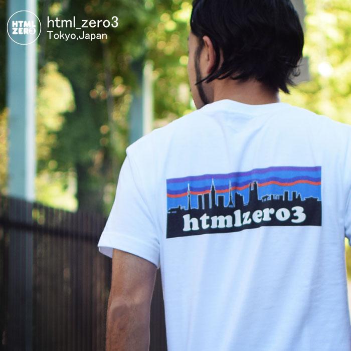 エイチティエムエル ゼロスリー HTML ZERO3 Tシャツ 半袖 メンズ レトロ スナップ(html zero3 Retro Snap S/S Tee ティーシャツ T-SHIRTS カットソー トップス エイチティーエムエル HTML-T547)[M便 1/1] ice filed icefield