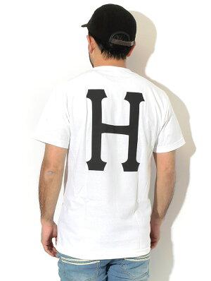ハフHUFTシャツ半袖メンズエッセンシャルズクラシックH(HUFEssentialsClassicHS/STeeティーシャツT-SHIRTSカットソートップスメンズ男性用TS01048)[M便1/1]icefieldicefield