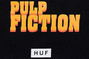 ハフHUFTシャツ長袖メンズパルプフィクションバッドマザーファッカーコラボ(HUF×PULPFICTIONBadMotherFuckerL/STeeティーシャツT-SHIRTSロングロンティーロンtカットソートップスメンズ男性用TS01309)icefieldicefield