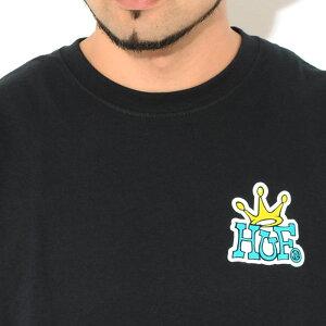 ハフHUFTシャツ半袖メンズハフクラウンロゴ(HUFHufCrownLogoS/STeeティーシャツT-SHIRTSカットソートップスメンズ男性用TS01414)[M便1/1]icefieldicefield