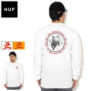 ハフHUFTシャツ長袖メンズYOTOゼンOX(HUFYOTOZenOXL/STeeティーシャツT-SHIRTSロングロンティーロンtカットソートップスメンズ男性用TS01548)icefieldicefield