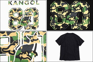 カンゴールKANGOLTシャツ半袖メンズ80thカレッジカモ(KANGOL80thCollegeCamoS/STeeティーシャツT-SHIRTSカットソートップスLCT0011)[M便1/1]icefiledicefield