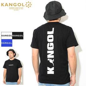 カンゴール KANGOL Tシャツ 半袖 メンズ KG ビッグ ロゴ ( KANGOL KG Big Logo S/S Tee ティーシャツ T-SHIRTS カットソー トップス LCT0031 )[M便 1/1]