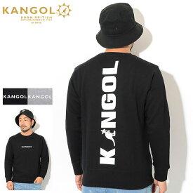 カンゴール KANGOL トレーナー メンズ KG ビッグ ロゴ クルー スウェット ( KANGOL KG Big Logo Crew Sweat スエット トレナー トレイナー トップス メンズ 男性用 LCK0036 ) ice field icefield