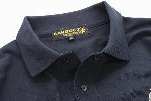カンゴールKANGOLポロシャツ半袖メンズシンボリックスタンダード(KANGOLSymbolicStandardS/SPolo鹿の子ピケポロトップスLCK0008)