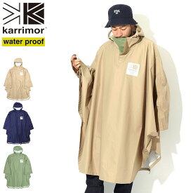 カリマー Karrimor ジャケット メンズ ボックス ロゴ ポンチョ ( Karrimor Box Logo Poncho レインポンチョ ナイロンジャケット JACKET JAKET アウター ジャンパー・ブルゾン 雨具 雨カッパ 雨合羽 通勤通学 アウトドア 3J01UBJ2 ) ice field icefield