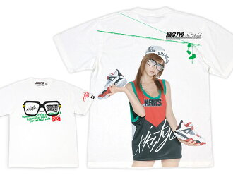 KIKS TYO(一踢TYO)×Aki Hoshino×CROOKED TONGUES Tee Limited Edition ice filed icefield