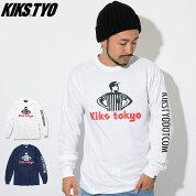 キックスティー・ワイ・オーKIKSTYOTシャツ長袖メンズロッカー(KiksTyoLockerL/STeeティーシャツT-SHIRTSトップスロングロンティーロンtKIKSTYOkiks・tyoキックスティーワイオーKT1808T-06)icefiledicefield