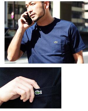 ラコステLACOSTETシャツ半袖メンズTH633EMポケットクルーネック(lacosteTH633EMPocketCrewNeckS/STeeMADEINJAPAN日本製メイドインジャパンティーシャツT-SHIRTSカットソートップス)[M便1/1]icefieldicefield