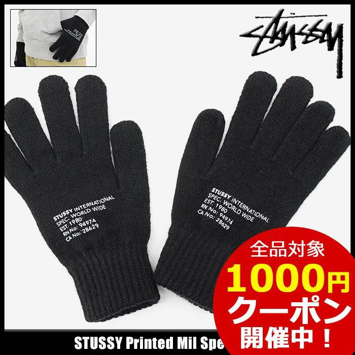 ステューシー STUSSY 手袋 メンズ Printed Mil Spec(stussy glove グローブ 手ぶくろ メンズ・男性用 138614 USAモデル 正規 品 ストゥーシー スチューシー 小物) ice filed icefield