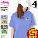 ステューシー STUSSY Tシャツ 半袖 レディース WOMEN Shadow Stock Pigment Dyed(stussy tee ピグメント ティーシャツ T-SHIRTS カット…