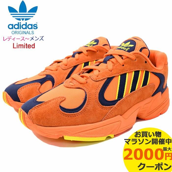 アディダス adidas スニーカー レディース & メンズ ヤング 1 High Reso Orange/Shock Yellow オリジナルス(adidas YUNG-1 Limited 限定 Originals ヤングワン ダッドシューズ ダッドスニーカー SNEAKER LADIES MENS・靴 シューズ SHOES B37613)
