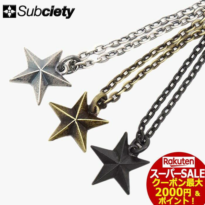 スーパーセール開催!サブサエティ Subciety ネックレス メンズ ガイダンス メタル(subciety サブサエティー Guidance Metal Necklace アクセサリー 104-94246)