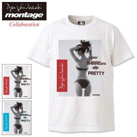 モンタージュ montage Tシャツ 半袖 メンズ 川崎あや バック スタイル アナーキー コラボ ( montage×Aya Kawasaki Back Style Anarchy S/S Tee ティーシャツ T-SHIRTS カットソー トップス )[M便 1/1]