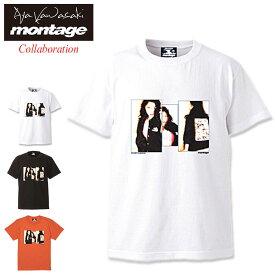 モンタージュ montage Tシャツ 半袖 メンズ 川崎あや ザ ビビッド コラボ ( montage×Aya Kawasaki The Vivid S/S Tee ティーシャツ T-SHIRTS カットソー トップス )[M便 1/1]