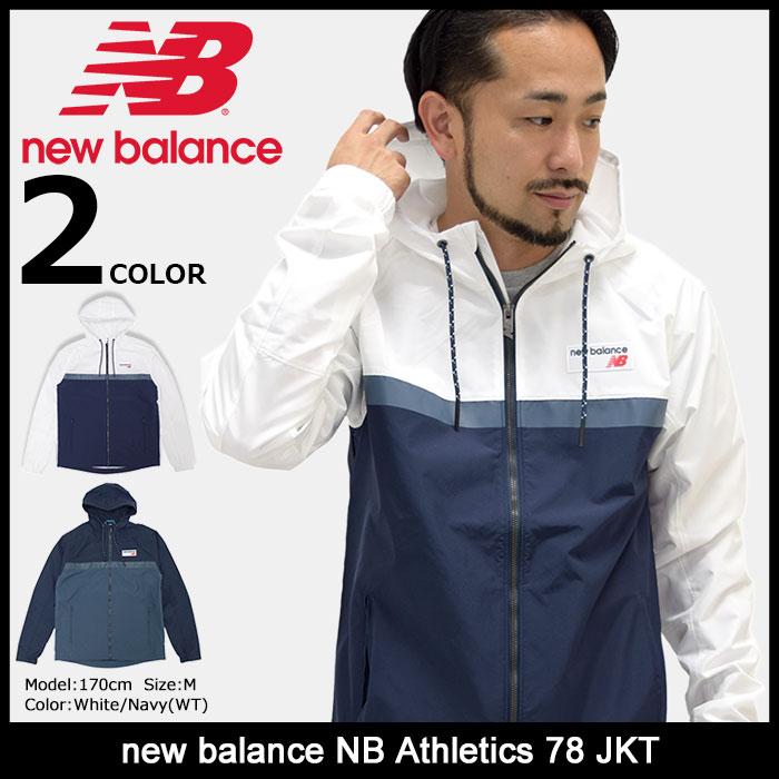 ニューバランス new balance ジャケット メンズ NB アスレチック 78(new balance NB Athletics 78 JKT ウィンドブレーカー ナイロンジャケット JACKET JAKET アウター ジャンパー・ブルゾン メンズ 男性用 AMJ73557) ice filed icefield