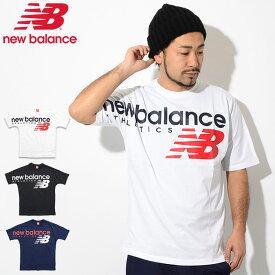 ニューバランス new balance Tシャツ 半袖 メンズ NB アスレチック クロスオーバー ( new balance NB Athletic Crossover S/S Tee ビッグシルエット オーバーサイズ ティーシャツ T-SHIRTS カットソー トップス メンズ 男性用 MT91512 )[M便 1/1]