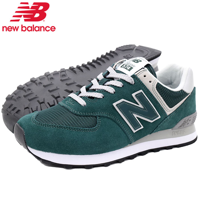 ニューバランス new balance スニーカー メンズ 男性用 ML574 EPF Deep Jade(newbalance ML574 EPF グリーン SNEAKER MENS・靴 シューズ SHOES ML574-EPF) ice filed icefield