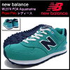 New balance new balance sneakers WL574 POA Aquamarine Pique Polo-Women (for women) (NEWBALANCE WL574 POA aquamarine Pique Polo Sneaker sneaker SNEAKER LADIES-shoes shoes SHOES sneaker WL574-POA) ice filed icefield