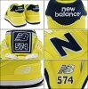 新平衡new balance运动鞋WL574 POI Lemon Drop纠察队马球女士(女性用)(NEWBALANCE WL574 POI柠檬糖果Pique Polo Sneaker LADIES、鞋鞋SHOES运动鞋WL574-POI)ice filed icefield