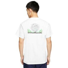 ナイキ NIKE Tシャツ 半袖 メンズ SB ユーン ヒョプ ホワイト コラボ ( nike SB×Yoon Hyup S/S Tee White ティーシャツ T-SHIRTS カットソー トップス メンズ 男性用 CU0289-100 )[M便 1/1] ice field icefield