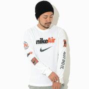 ナイキNIKETシャツ長袖メンズスウッシュバイエアホワイト(nikeSwooshByAirL/STeeWihteティーシャツT-SHIRTSロングロンティーロンtカットソートップスメンズ男性用DJ1416-100)icefieldicefield