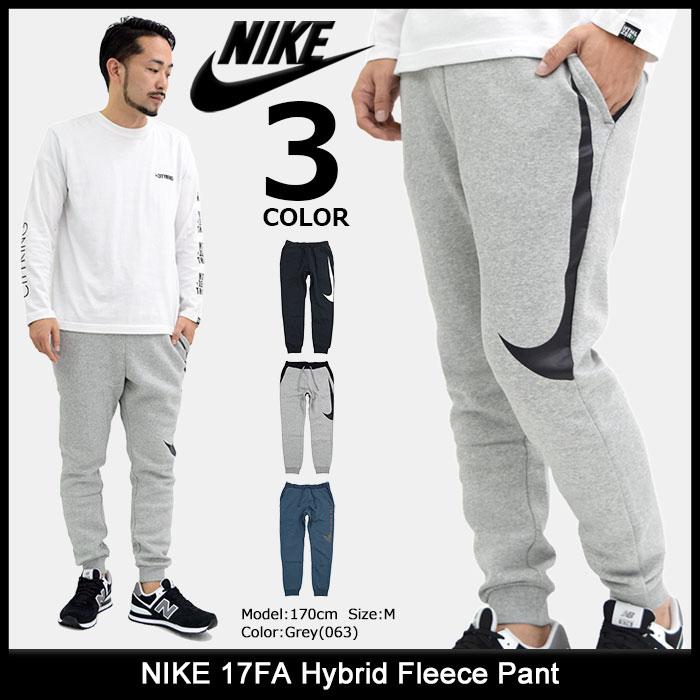 ナイキ NIKE パンツ メンズ 17FA ハイブリッド フリース(nike 17FA Hybrid Fleece Pant ジョガーパンツ スウェットパンツ スエットパンツ ボトムス メンズ 男性用 861721) ice filed icefield