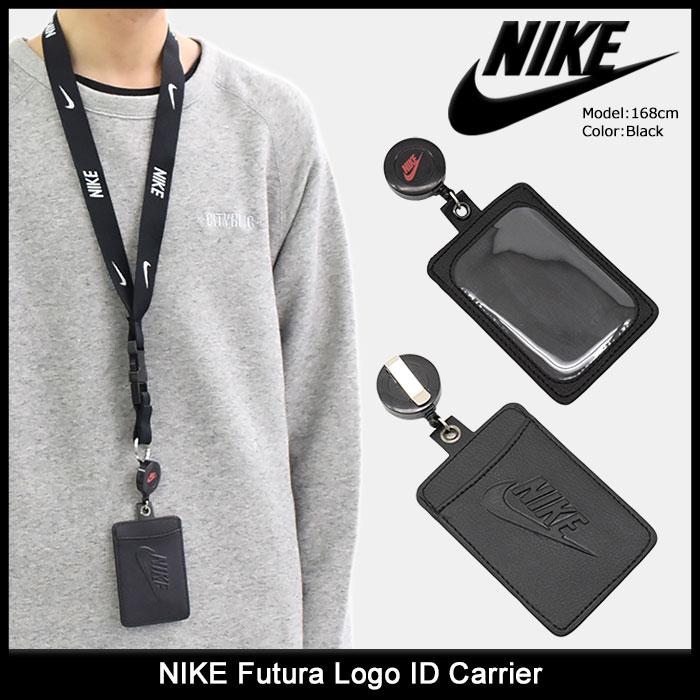 ナイキ NIKE カードケース フューチュラ ロゴ I.D. キャリアー(nike Futura Logo ID Carrier パスケース 定期入れ NS2003) ice filed icefield