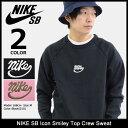 ナイキ NIKE トレーナー メンズ SB アイコン スマイリー トップ クルー スウェット SB(nike SB Icon Smiley Top Crew …