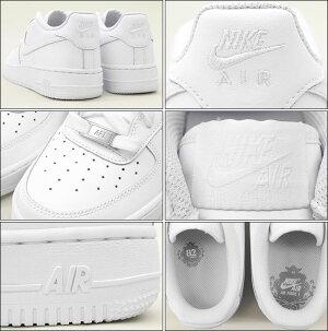 ナイキNIKEスニーカーレディース女性用エアフォース1GSWhite/White(nikeAIRFORCE1GSホワイト白SNEAKERLADIES・靴シューズSHOES314192-117)icefiledicefield