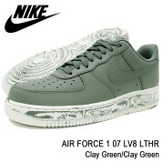 ナイキNIKEスニーカーメンズ男性用エアフォース107LV8LTHRClayGreen/ClayGreen(nikeAIRFORCE107LV8LTHRオリーブSNEAKERMENS・靴シューズSHOESAJ9507-300)icefiledicefield