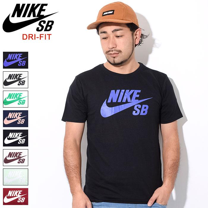 ナイキ NIKE Tシャツ 半袖 メンズ SB ロゴ SB(nike SB Logo S/S Tee SB DRI-FIT ティーシャツ T-SHIRTS カットソー トップス メンズ 男性用 821947)[M便 1/1]