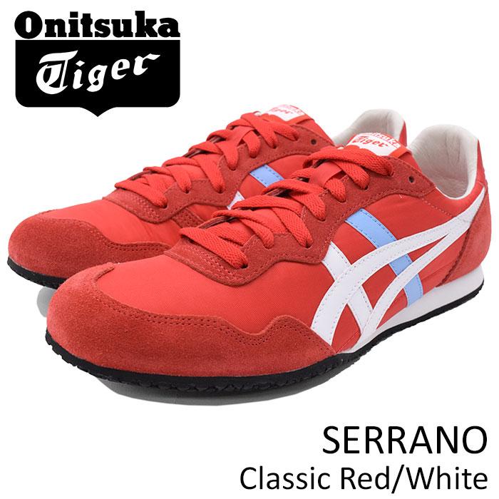 オニツカタイガー Onitsuka Tiger スニーカー メンズ 男性用 セラーノ Classic Red/White(Onitsuka Tiger SERRANO レッド 赤 SNEAKER MENS・靴 シューズ SHOES D109L-600 TH109L-600)