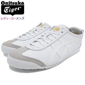 オニツカタイガー Onitsuka Tiger スニーカー レディース & メンズ メキシコ 66 White/White ( Onitsuka Tiger MEXICO 66 ホワイト 白 SNEAKER LADIES MENS・靴 シューズ SHOES DL408-0101 ) ice field icefield