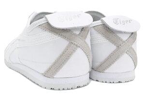 オニツカタイガーOnitsukaTigerスニーカーレディース&メンズメキシコ66White/White(OnitsukaTigerMEXICO66ホワイト白SNEAKERLADIESMENS・靴シューズSHOESDL408-0101)icefiledicefield