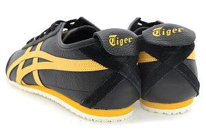 オニツカタイガーOnitsukaTigerスニーカーレディース&メンズメキシコ66Black/HoneyGold(OnitsukaTigerMEXICO66ブラック黒SNEAKERLADIESMENS・靴シューズSHOES1183A201-001)