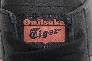オニツカタイガーOnitsukaTigerスニーカーメンズ男性用メキシコ66Black/BurntRed(OnitsukaTigerMEXICO66ブラック黒SNEAKERMENS・靴シューズSHOES1183A201-002)