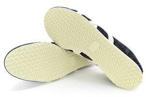 オニツカタイガーOnitsukaTigerスニーカーメンズ男性用メキシコ66IndigoDenim/Cream(OnitsukaTigerMEXICO66ネイビー紺SNEAKERMENS・靴シューズSHOES1183A521-400)