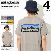 パタゴニアPatagoniaTシャツ半袖メンズP-6ロゴオーガニック(PatagoniaP-6LogoOrganicS/STeeティーシャツT-SHIRTSカットソートップスアウトドアUSAモデル39151)[M便1/1]icefiledicefield