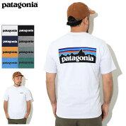 パタゴニアPatagoniaTシャツ半袖メンズP-6ロゴレスポンシビリティー(PatagoniaP-6LogoResponsibiliS/STeeティーシャツT-SHIRTSカットソートップスアウトドアUSAモデル38504)[M便1/1]icefieldicefield