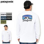 パタゴニアPatagoniaTシャツ長袖メンズフィッツロイホライゾンズレスポンシビリティー(PatagoniaFitzRoyHorizonsResponsibiliL/STeeティーシャツT-SHIRTSロングロンティーロンtカットソートップスアウトドアUSAモデル38514)icefieldicefield