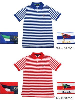 スーパーセール開催!ポロラルフローレンPOLORALPHLAURENポロシャツ半袖ボーイズモデルレディース・メンズ対応サイズストライプドコットン(poloralphlaurenPoloトップスポロ・シャツ323536705)