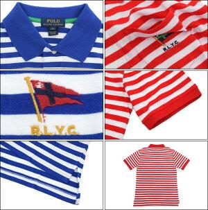 ポロラルフローレンPOLORALPHLAURENポロシャツ半袖ボーイズモデルレディース・メンズ対応サイズストライプドコットン(poloralphlaurenPoloトップスポロ・シャツ323536705)