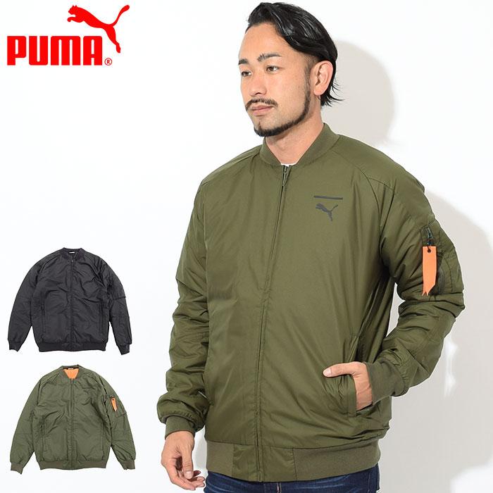 プーマ PUMA ジャケット メンズ ペース ボンバージャケット(PUMA Pace Bomber JKT MA-1 フライトジャケット 中綿 JACKET JAKET アウター ジャンパー・ブルゾン メンズ 男性用 577656)