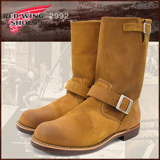Redwing RED WING 2992 Engineer Boots brown suede leather MADE IN USA men (red wing REDWING Red Wing wing ENGINEER BOOT Engineer-Boots BOOTS boots Red Wing Red-Wing work boots shoes & boots)