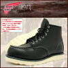 Redwing RED WING 8130 6 inch moccasin to boots black leather Irish setter men (men for men) (red wing REDWING Red Wing wing BOOTS boots Red Wing Red-Wing work boots shoes & boots)