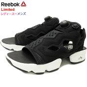 【6/13入荷予定】リーボックReebokサンダルレディース&メンズインスタポンプフューリーサンダルBlack/White/SilverMet限定(reebokINSTAPUMPFURYSANDALLimitedブラック黒ポンプフューリーSANDALLADIESMENS・靴シューズSHOESDV9699)