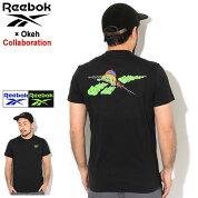 リーボックReebokTシャツ半袖メンズオーケーCLSMGFXT1コラボ(reebok×OkehCLSMGFXT1S/STeeティーシャツT-SHIRTSカットソートップスメンズ男性用FS8787FS8789)[M便1/1]icefieldicefield