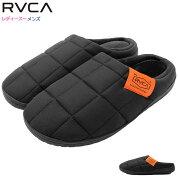 ルーカRVCAサンダルレディース&メンズタグモックブラック(RVCATAGMOCKSANDAL冬用サンダル防寒外履きルームシューズアウトドアレジャーキャンプ靴シューズSHOESBB044-996BB042-996)