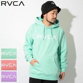 ルーカ RVCA プルオーバー パーカー メンズ ビッグ ルーカ(RVCA Big RVCA Pullover Hoodie フード フーディ スウェット Pull Over Hoody Parker トップス メンズ 男性用 AJ041-015) ice filed icefield